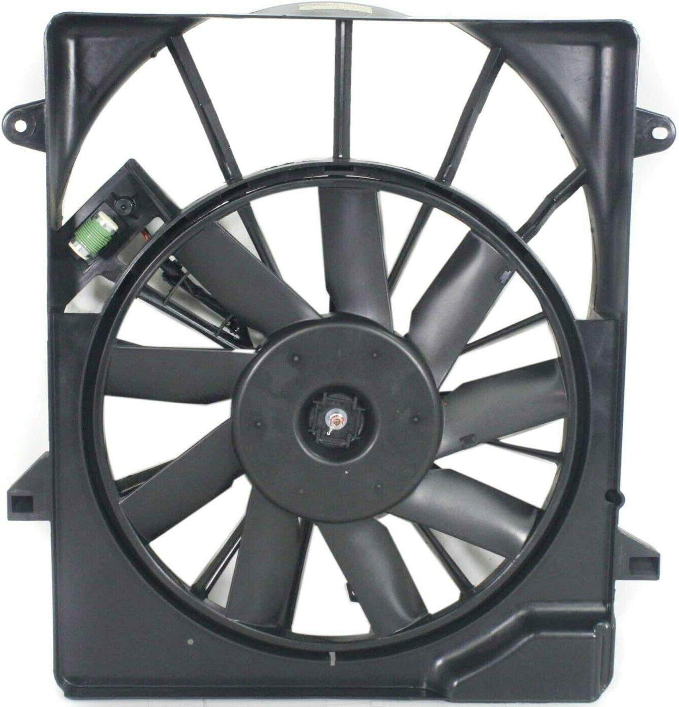 Deebior Radiator Cooling Industry No. 1 Fan Compatible Limited price sale 2010-2011 with Det Nitro