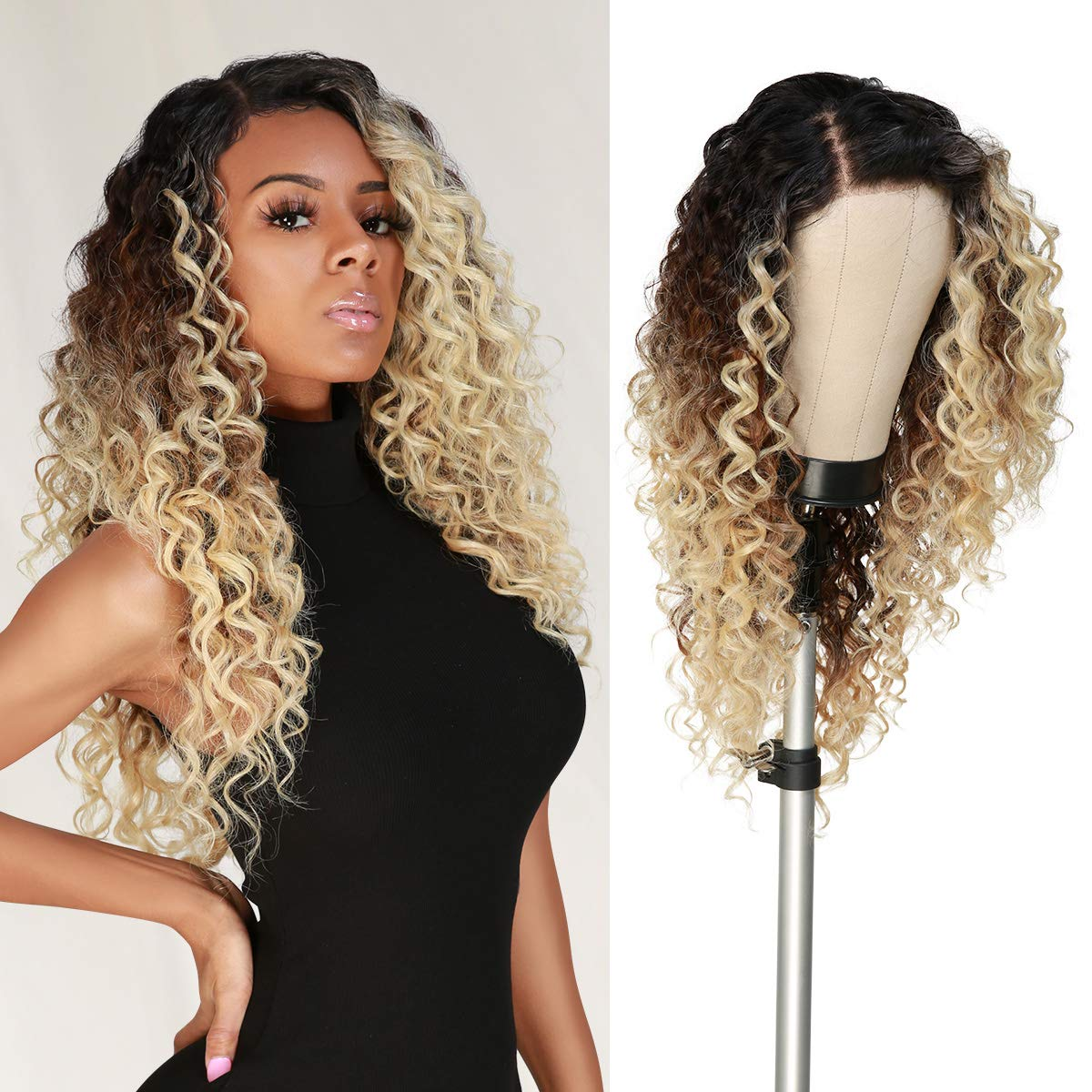 Manufacturer direct delivery The Stylist HD LACE Front Wig Deep Twist Tra Wave curl Ranking TOP13 13X6
