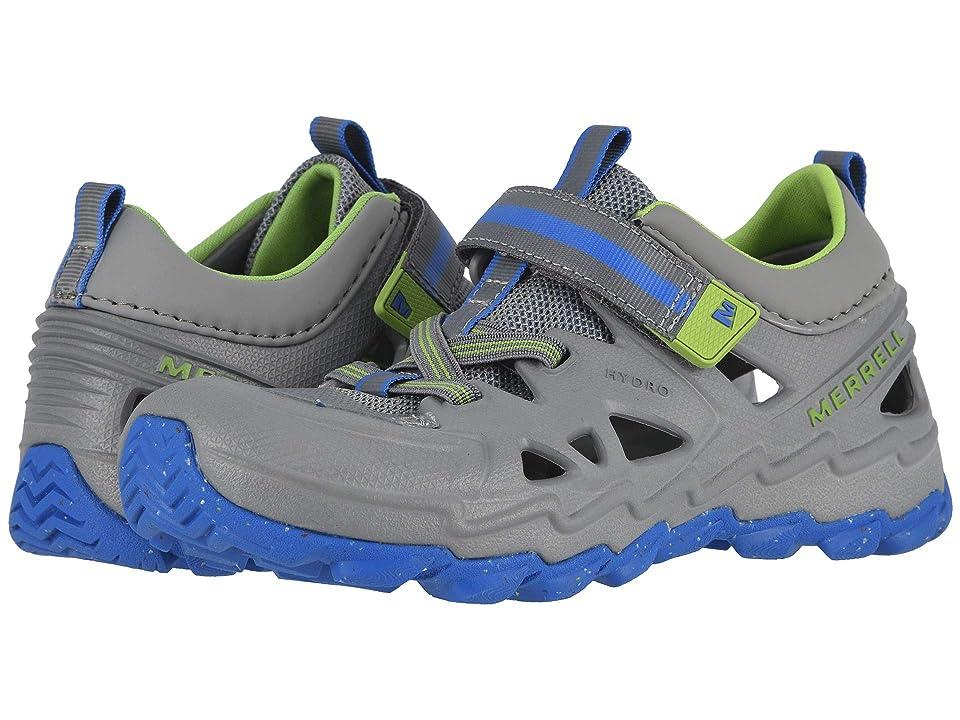 Merrell Kids Hydro 2.0 (Big Kid) (Grey/Blue) Boys Shoes
