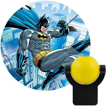 Projectables 10445 RA29607 Dc Comics Led Night-Light (Batman), Yellow