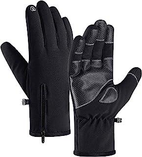 دستکش زمستانی ضد آب 100٪ جنیولت -30 proof دستکش صفحه نمایش لمسی ضد انگشت گرم برای مردان برای اسکی و کار در فضای باز