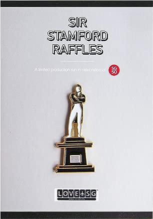 Sir Stamford Raffles Collar Pin