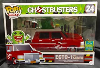 Funko Ghostbusters Funko POP! Movies ECTO-1 with Slimer Exclusive Vinyl Figure Set