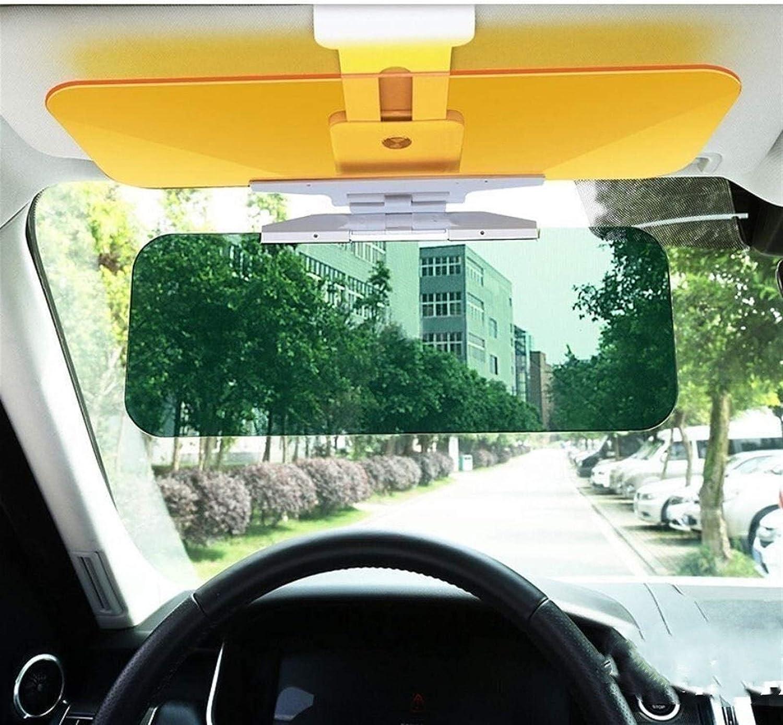 Color : 1Pc A NYSCJJJ Voiture Anti-/éblouissement Pare-Soleil 2 en 1 Dazzling Goggle Jour conducteur et Nuit Anti-Feux de Route Lumi/ère Pare-Soleil Driving Clear View