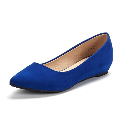 d60eeeb08f6 DREAM PAIRS Women s Jilian Low Wedge Flats Shoes