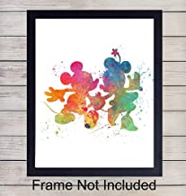 Best mickey and minnie watercolor Reviews