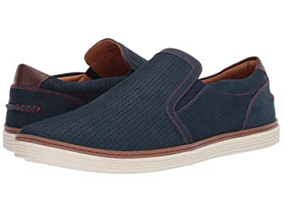 Donald J Pliner Travis 2 (Navy Nubuck) Men