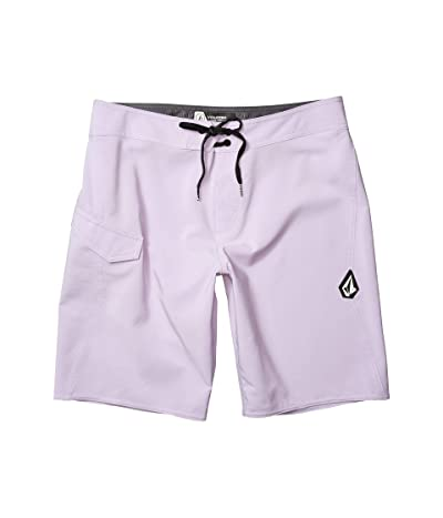 Volcom Lido Solid Mod 20 Boardshorts (Lilac) Men
