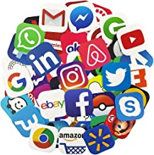 Best social media decal stickers Reviews