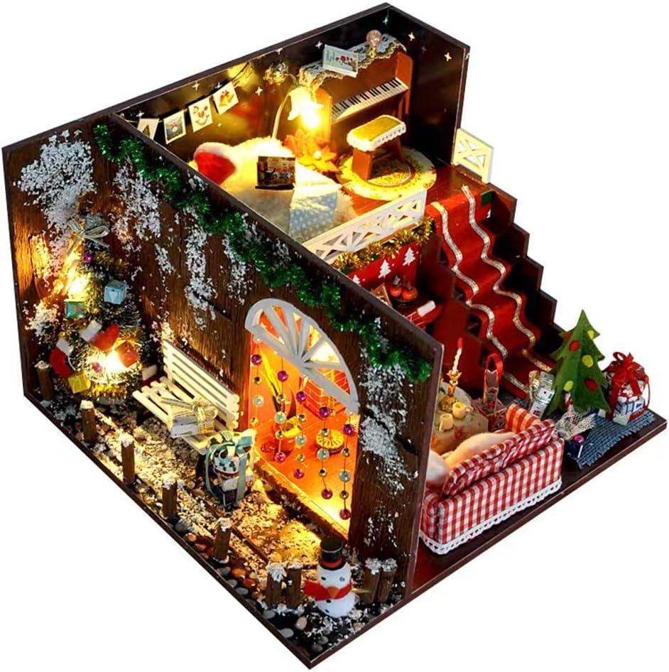 Flever Dollhouse Rare Miniature DIY House Furn Tulsa Mall Room with Kit Creative