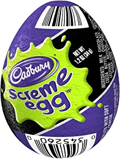 CADBURY Chocolate Candy Screme Egg (Pack of 48)