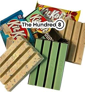 Kit Kat 3 Bar Pack (limited) Kit Kat Apple Pie, Kit Kat Birthday Cake and Kit Kat Mint Chocolate with The HUNDRED8 Magnet