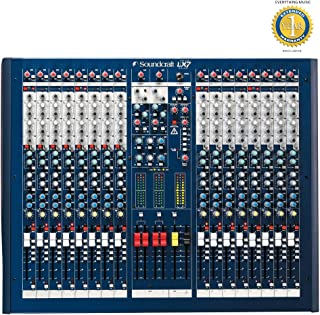 Soundcraft LX7ii 16-Channel Mixer with Microfiber and Free EverythingMusic 1 Year Extended Warranty