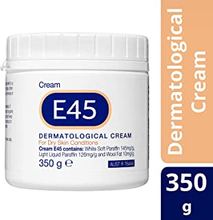 E45 Moisturizing Cream for Dry Skin and Eczema, 350g