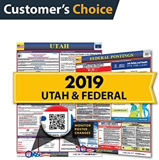 2019 Utah State & Federal Labor Law Posters for Workplace Compliance
