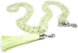 Premium Mala Beads 6MM & 8MM 108 Beads - Mala Necklace - 108 Mala Necklace - Removable Tassel Necklace - Yoga Necklace - Y...