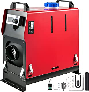 Mophorn Calentador de Diesel 12V 5KW con Transmisión de Voz y 1 Salida de Aire Calentador de Combustible Calefacción Estacionaria para Camión Furgonetas RV Vehículos