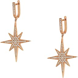 Aria Star Drop Earrings