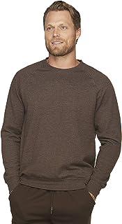Colosseum Active Mens Dual Blend Fleece Crew Neck Sweatshirt