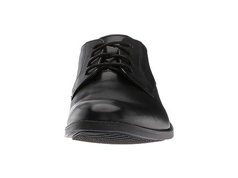 Bostonian Garian Plain Black Leather Buy Cheap Cheap jzACfq
