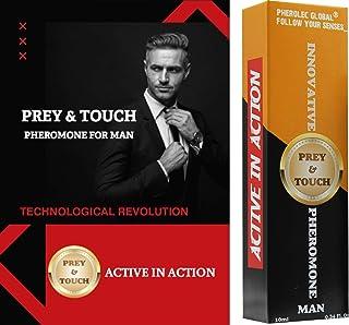 Prey & Touch Perfume de feromonas para hombres 10ml Aceite de feromonas muy fuerte para atraer mujeres