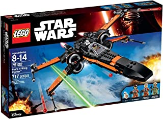 LEGO Building Block Spacecraft Poe`s X-Wing Fighter Star Wars (717pcs) Toys