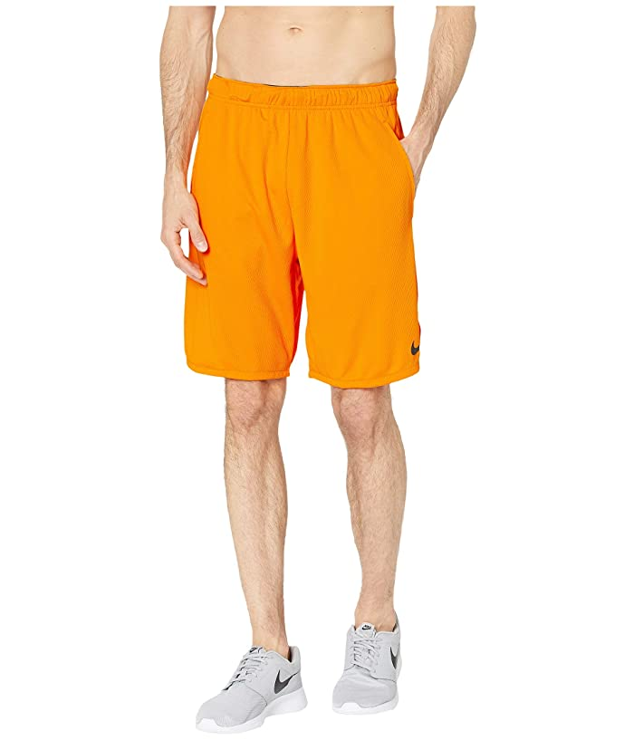 Nike Dri-FIT 9 Training Short (Orange Peel/Black) Men