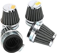 INNOGLOW Motorcycle Air Filters 54mm 4pcs Universal Air Intake Filter Pod Cleaner for Most Honda Yamaha Suzuki Kawasaki