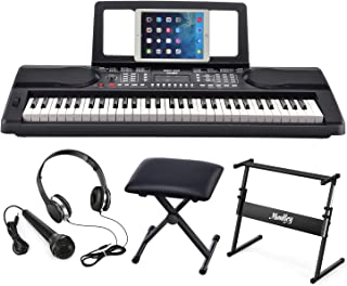Moukey MEK-200 Electric Keyboard Portable Piano Keyboard Mus