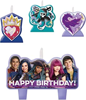 Amscan Disney Descendants 2 Birthday Candle Set