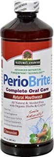Natures Answer - Natures Answer PerioWash Mouthwash Alcohol-Free Cinna Mint - 16 fl oz