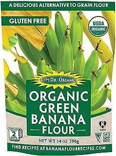 Let's Do Organic Green Banana Flour, 2 Count