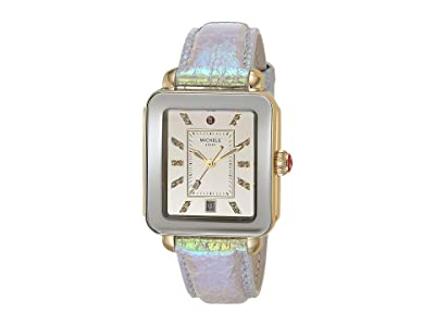 Michele Deco Sport Iridescent and Mirror Dial (Pink) Watches