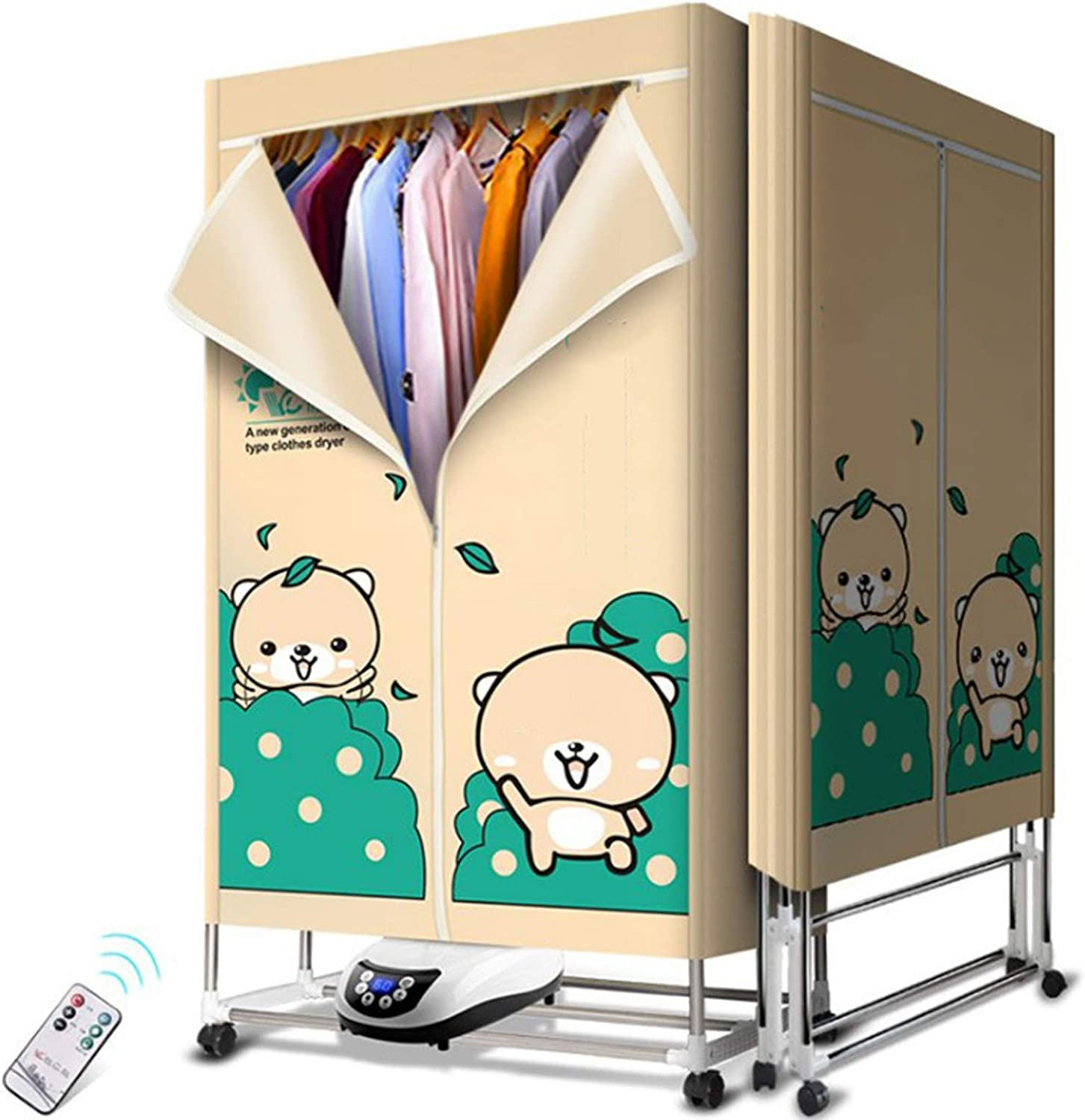 N \ A Industry No. 1 Foldable Electric Clothes 1500w Larg 15kg Dryer Power High Max 54% OFF