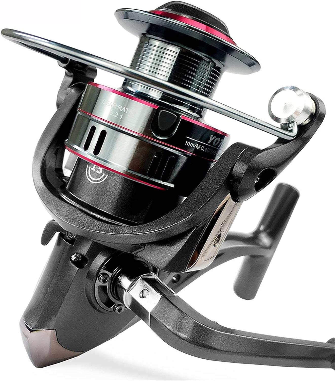 MCYAW 5.2:1 Fishing Reel 1000-7000 Series Max Cheap mail order shopping Spinning 12KG 5 ☆ popular