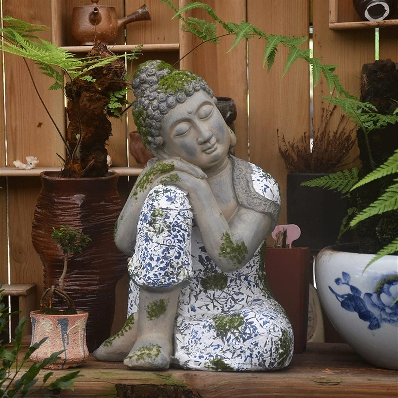 YAOLUU Garden Sale special price Statues Farmhouse Zen Imi Statue Buddha Decoration Louisville-Jefferson County Mall