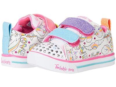 SKECHERS KIDS Twinkle Toes Sparkle Lite Believe in Rainbows 314766N (Toddler)