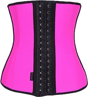 c95affe35c FIRM ABS Women s Latex Sport Girdle Waist Training Corset Waist Body Shaper
