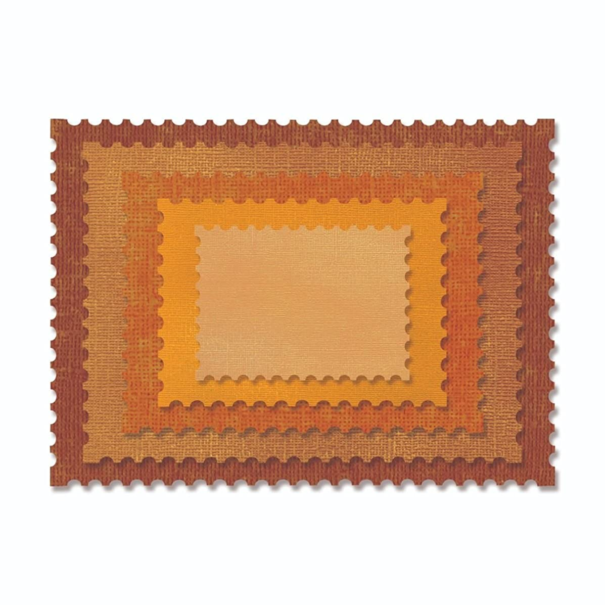 Sizzix 662696 Thinlits Die, Orange