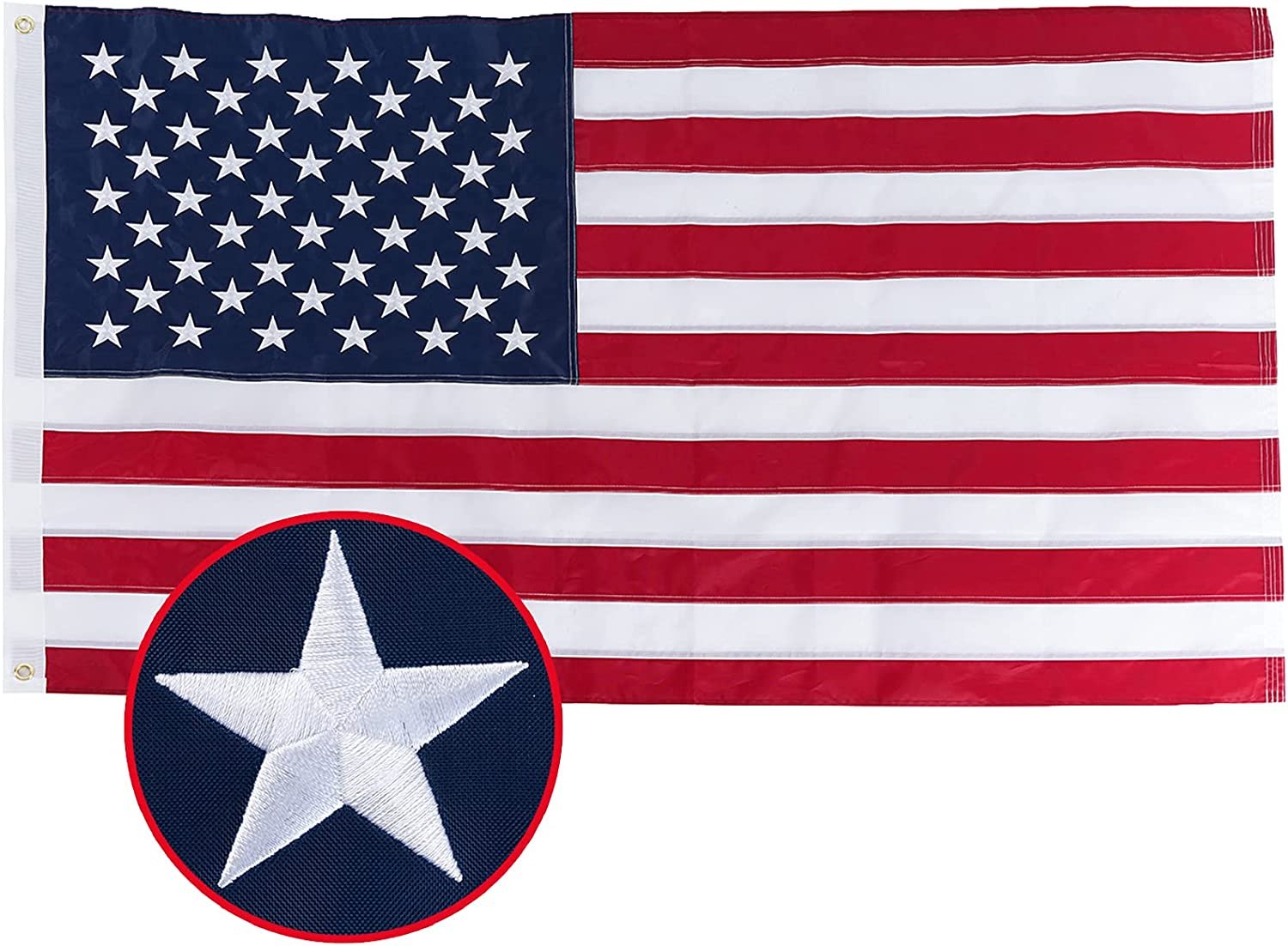 Spring new work one after another FRF American flag 4x6 Heavy Ranking TOP13 Duty Outdoor wi in Made USA US Flags