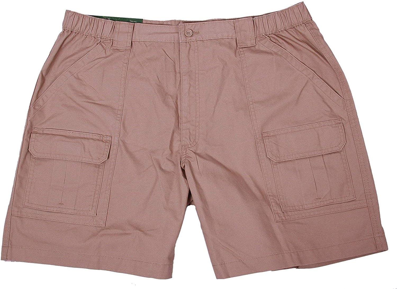 Savane Mens Comfort Hiking Cargo Shorts (32, Khaki 2), Khaki 2, Size 32 V4kp