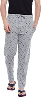 VIMAL JONNEY Printed Cotton Trackpant for Men