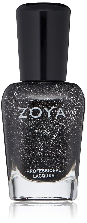コンテンツのホスト動かないZOYA ゾーヤ ネイルカラー ZP645 STORM ストーム 15ml  2012 ORNATE COLLECTION 微細なダイヤモンドホロが輝くブラック グリッター 爪にやさしいネイルラッカーマニキュア