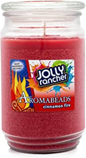 Jolly Rancher Cinnamon Fire Scented Aromabeads Candle