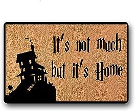 BXBCASEHOMEMAT It's not Much but It's Home in Here Non-Skid Family Floor Entrance Doormat Indoor/Outdoor 23.6