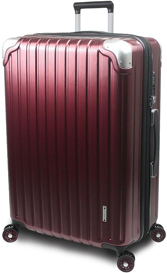 【SUCCESS サクセス】 スーツケース 3サイズ 【 大型 76cm / ジャスト型 70cm / 中型 65cm 】 超軽量 TSAロック搭載 【 プロデンス コーナーパットモデル】