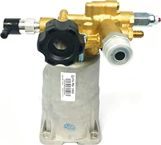 """Premium Cold Water Gasoline Pressure Power Washer Cleaner Replacement Axial Pump for AR RMV2.5G30D 3000PSI 2.5 GPM 3/4"""" Shaft Brass Head Simpson, Briggs & Stratton Etc."""