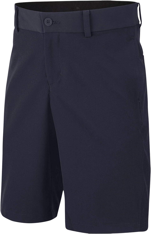 Nike Boys Dri-Fit Flex Hybrid Junior Shorts, (Size Medium, Obsidian)