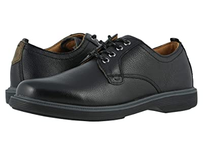 Florsheim Kids Supacush Plain Toe Ox, Jr. (Toddler/Little Kid/Big Kid) (Black Milled/Black Sole) Boy