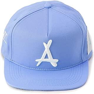 "Tha Alumni Clothing (アルムナイクロージング) ロゴ スナップバックキャップ カロライナブルー フラットバイザー""AOP SNAPBACK (CAROLINA BLUE)"" [並行輸入品]"
